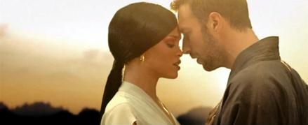 #videos: Rihanna channels her inner sexy samurai on Coldplay Princess of China clip!