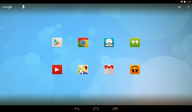 Tersus 2.0 (nova apex icons) android apk - Screenshoot