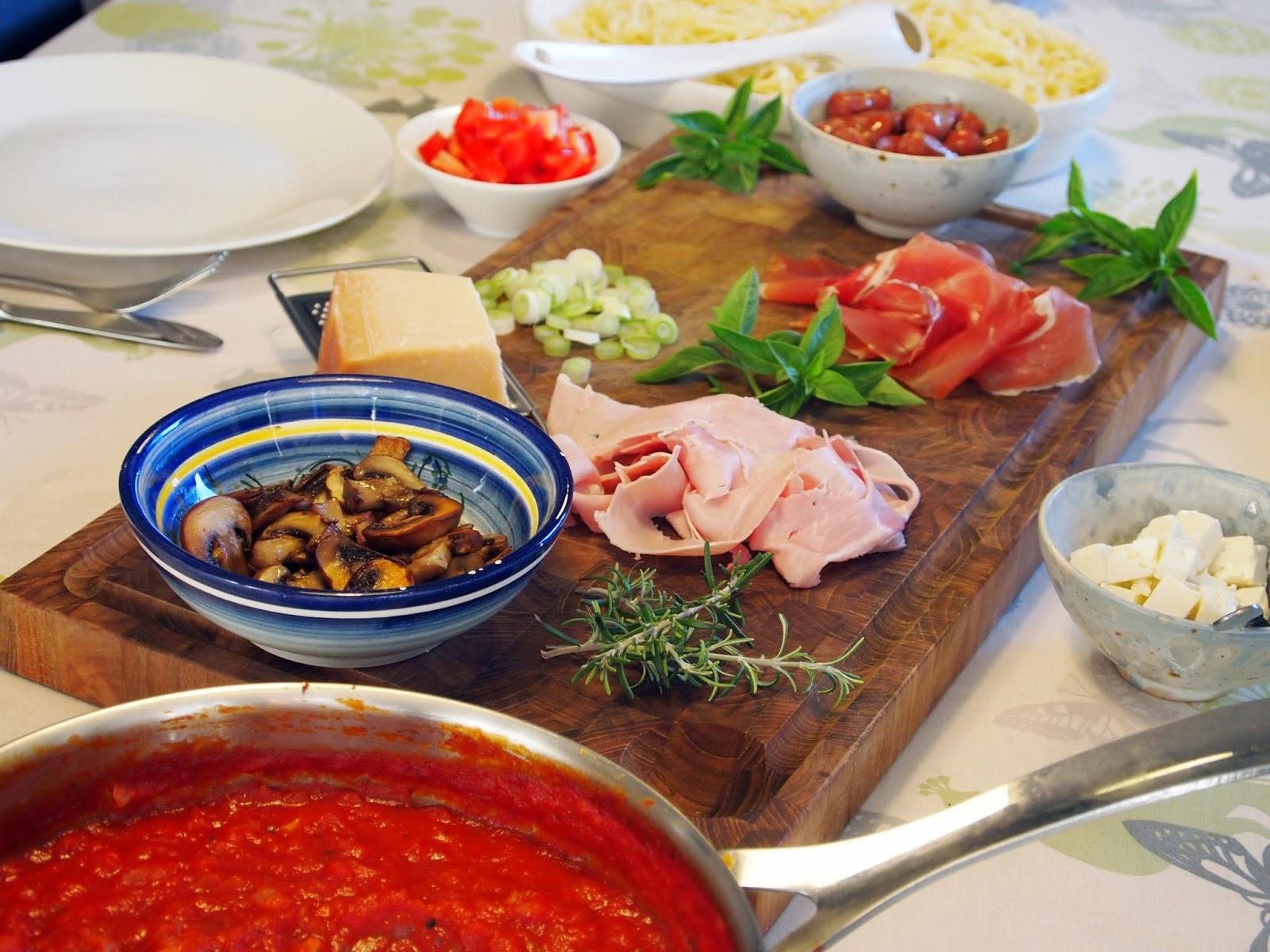 Ta' selv spaghetti | MadMedMartin