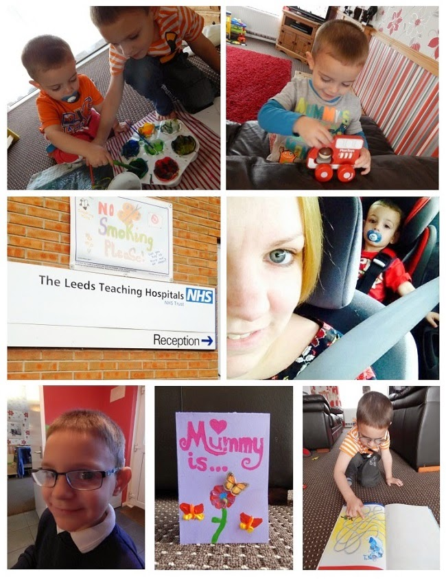 Yorkshire Blog, Mummy Blogging, Parent Blog, A Photo A Day, #Project365, 365 Photo Project, Mothers Day, Glasses, Hospital, MRI Scan, Painting,