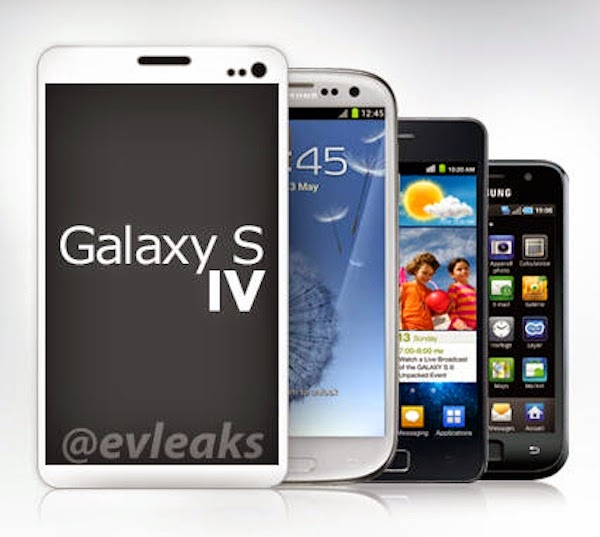 Samsung Galaxy S IV renders leaked, reveal no front button on phone
