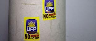 El comisario de Móstoles ordena a la Policía Científica investigar sobre unas pegatinas sindicales