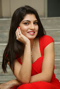 Priyadarshini Glam Pics in Red at Dillunnodu audio-thumbnail-15