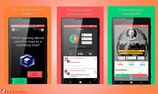 QuizUp for Windows Phone