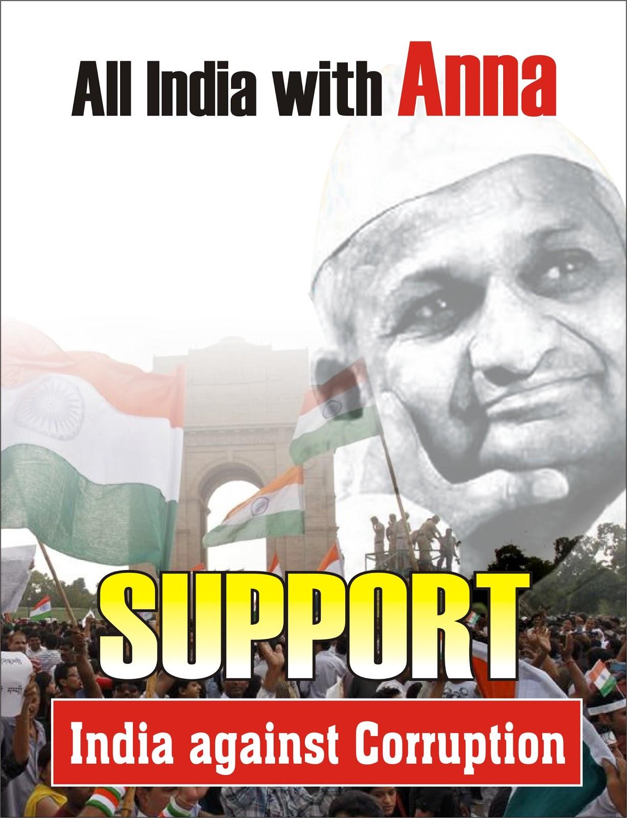 Corruption Poster: Fight against Corruption