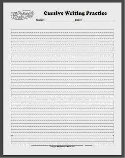 Improve Handwriting Worksheets