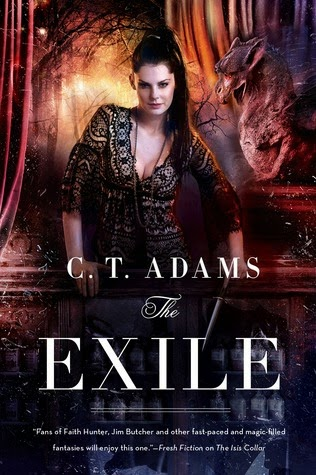 The Exile paranormal urban fantasy by C.T. Adams