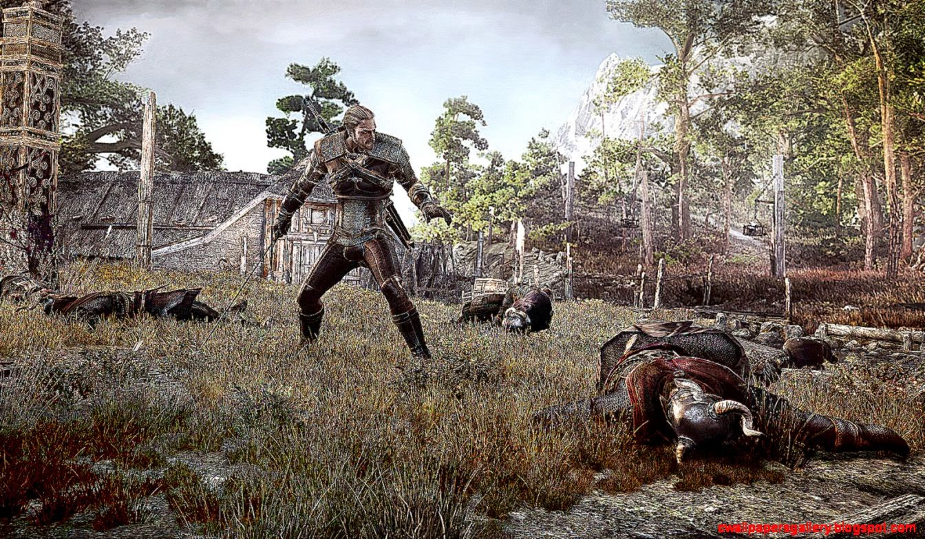 The witcher 3 wild hunt e3 2014 5min gameplay looks impressive