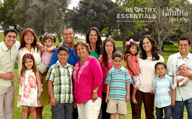 The Jimenez Familia is Johnson & Johnson's #LaFamiliaDeHoy #ad