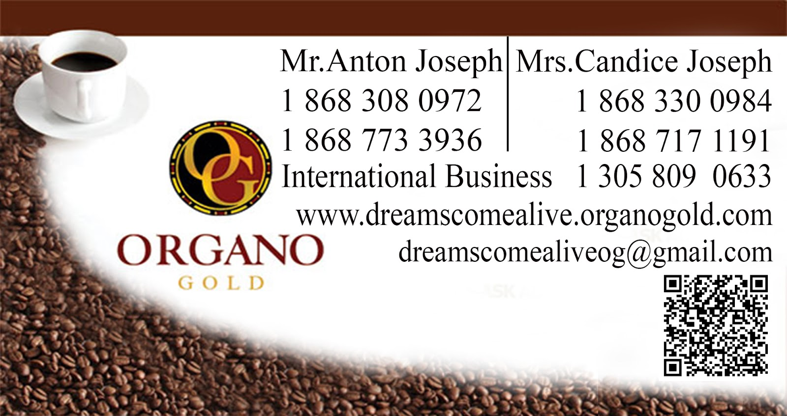 dreams really do come alive with organo gold: make your dreams a ...
