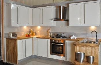 gambar desain lemari gantung dapur minimalis