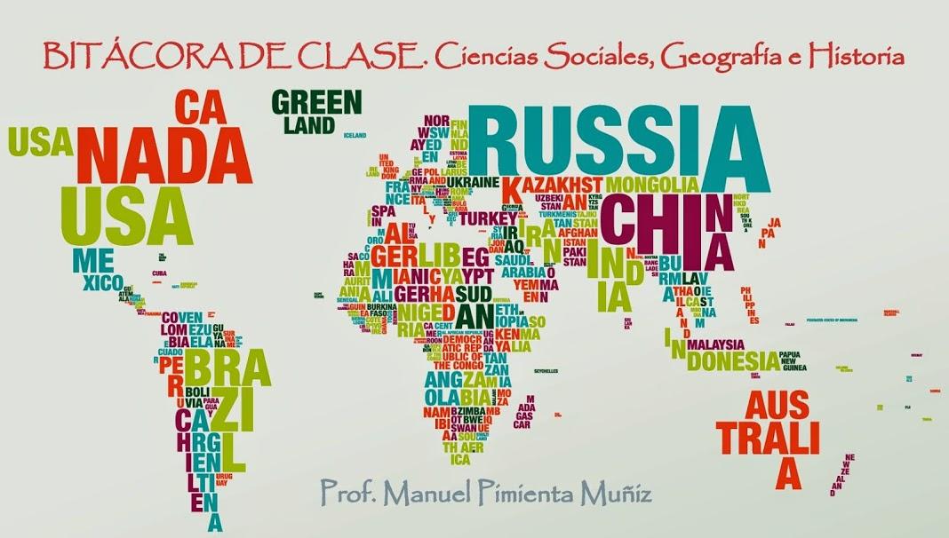 Blog de Ciencias Sociales. Curso 2018-2019