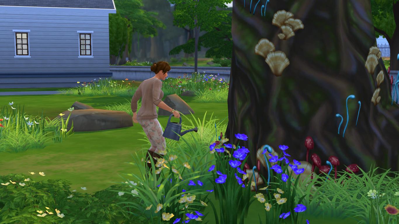 """Guía Sims 4: Desbloquear La """"Gruta Olvidada"""" y El """"Claro Silvestre"""" 11-09-2014_13-53"""