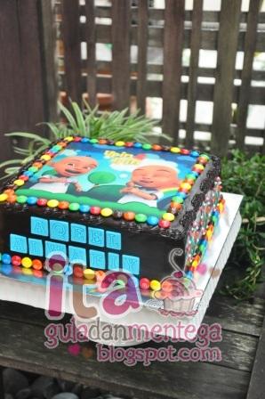 Gula Dan Mentega Birthday Cake Upin Ipin