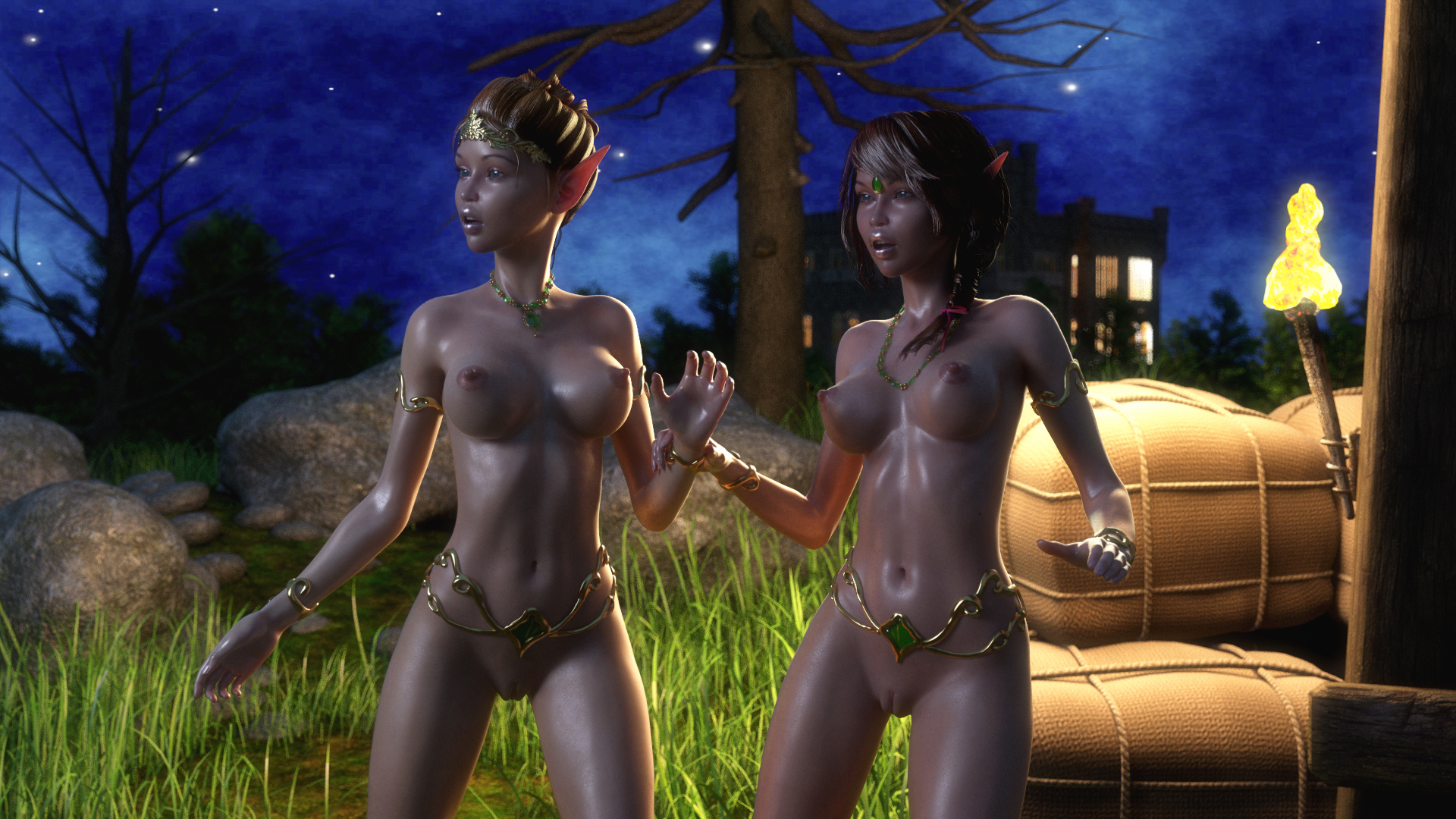 Erotic elf fiction nsfw video