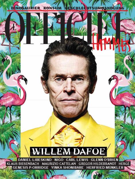 Willem Dafoe by Joshua Jordan for L'Officiel Hommes Germany SS14