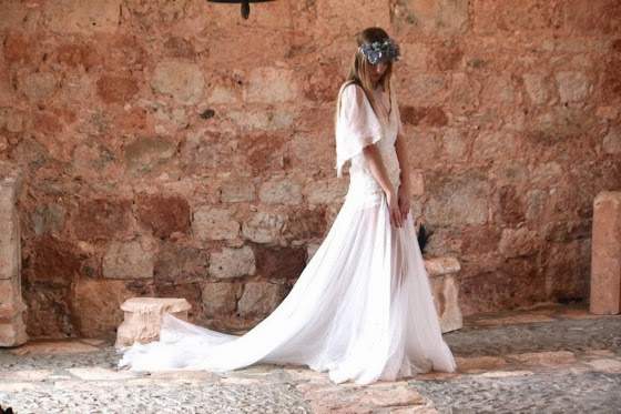 Vestidos de novia románticos y vaporosos: parecerá que estás en un sueño