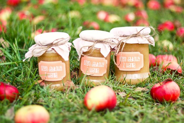 dżem jabłkowy z wanilią