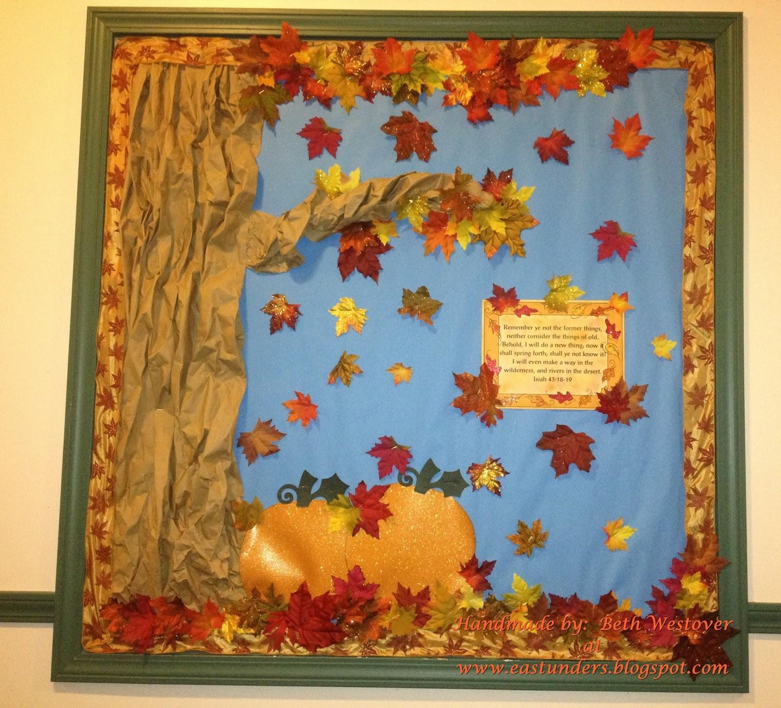 Eastunders creations 2013 fall bulletin boards for Fall bulletin board ideas