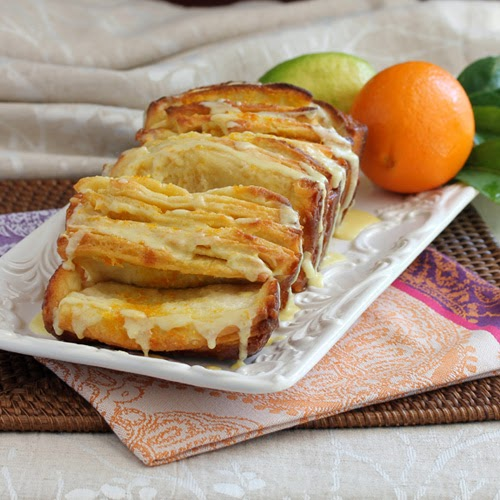 Have Recipes-Will Cook: Citrus Pull-Apart Bread for Easter 2014