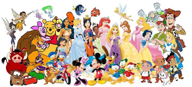Imprimibles de personajes Disney. | Ideas y material gratis para ...