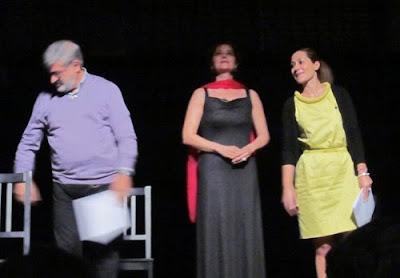Recital de poesía de Jenaro Talens y Mónica López Bordón. Corral de Comedias. Alcalá de Henares