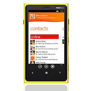 Nimbuzz for Windows Phone 8
