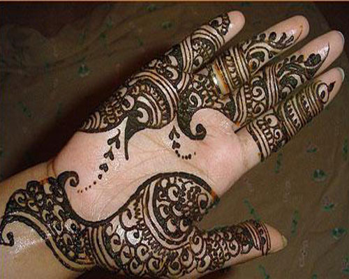 Mehndi Vorlagen Gratis : Arabic mehndi design right hand makedes