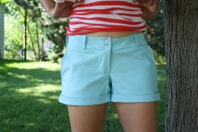 Cuffed Shorts Pattern