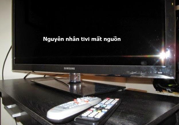 Nguyên nhân dẫn tới tivi bị mất nguồn