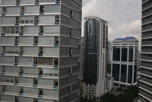 Mandarin Oriental Hotel KL view flats