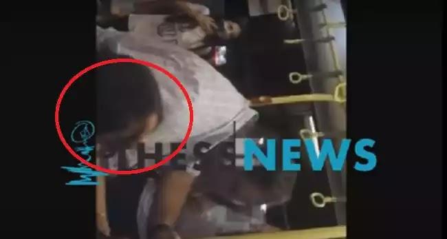 Πιάστηκαν στα χέρια ελεγκτής και κοπέλα σε λεωφορείο στη Θεσσαλονίκη! (Βίντεο)