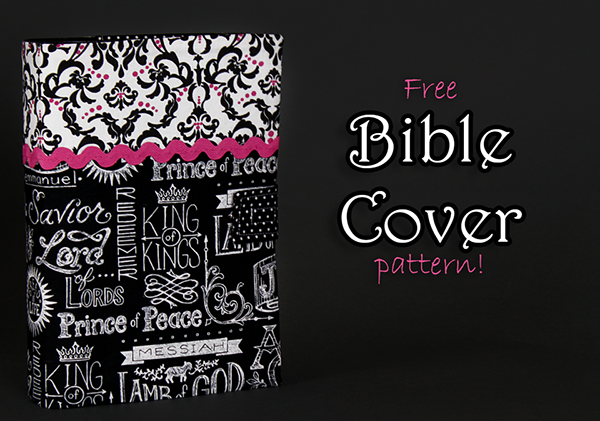 Bible Book Cover Pattern ~ Create kids couture diy bible cover