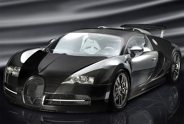 black bugatti veyron wallpaper