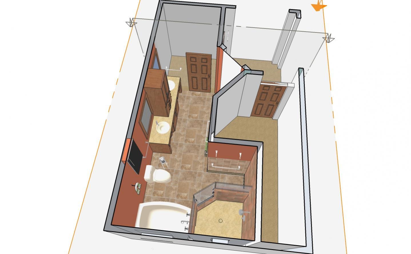 Google SketchUp Floor Plan