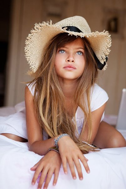 Thylane Lena-Rose Blondeau 10-year old model