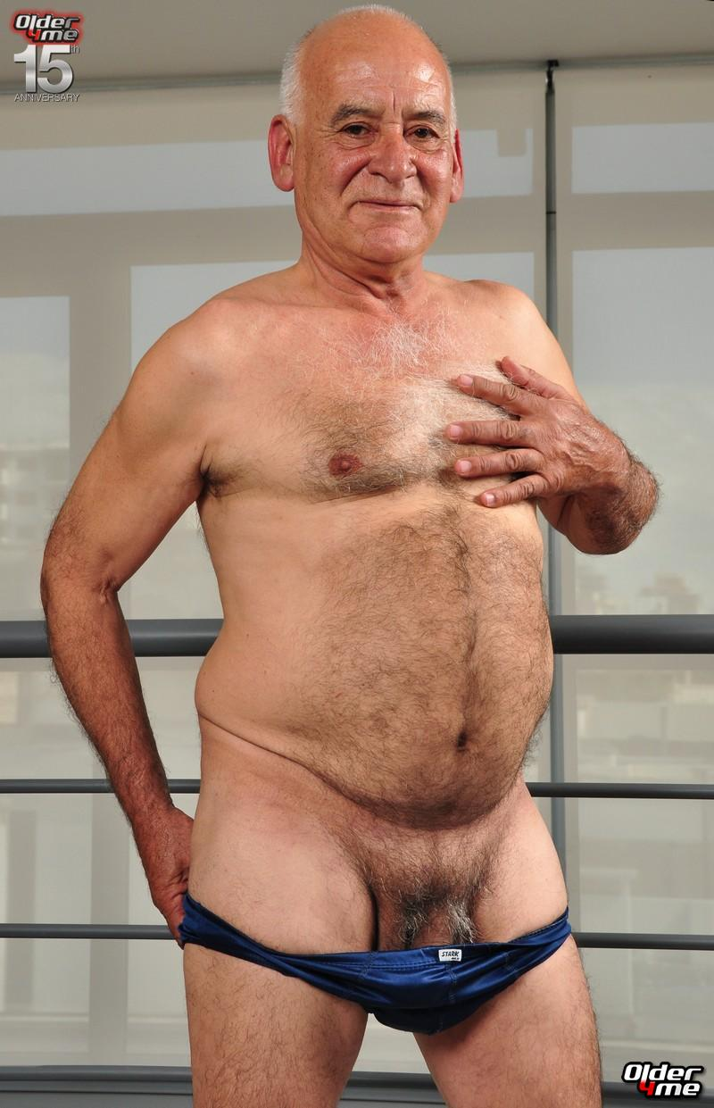 Hairy Old Gay Grandpa