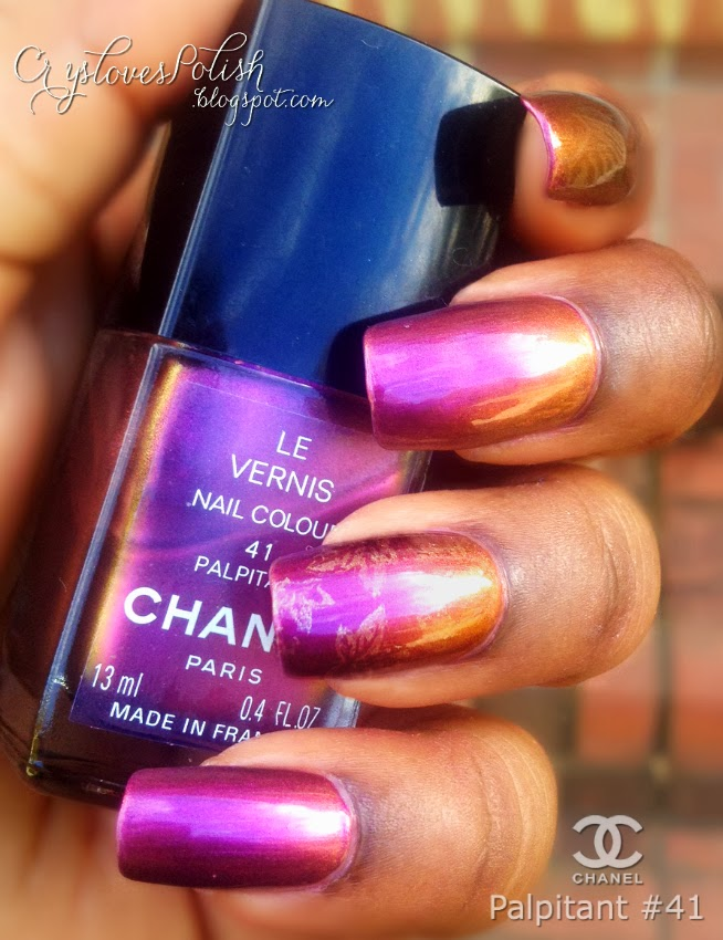 Vintage Monday by way of Chanel Le Vernis Palpitant 41 | Crys Loves ...