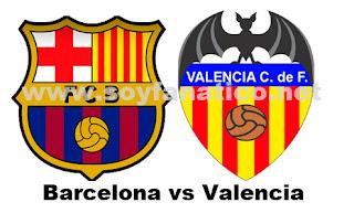 Barcelona vs Valencia, 2 de Septiembre 2012