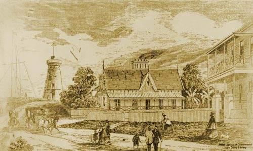Tales from colonial queensland dodgy dispatches from for Queensland terrace state library