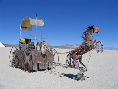 Funny Horse Car