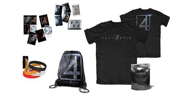 Merchandising Cuatro Fantásticos