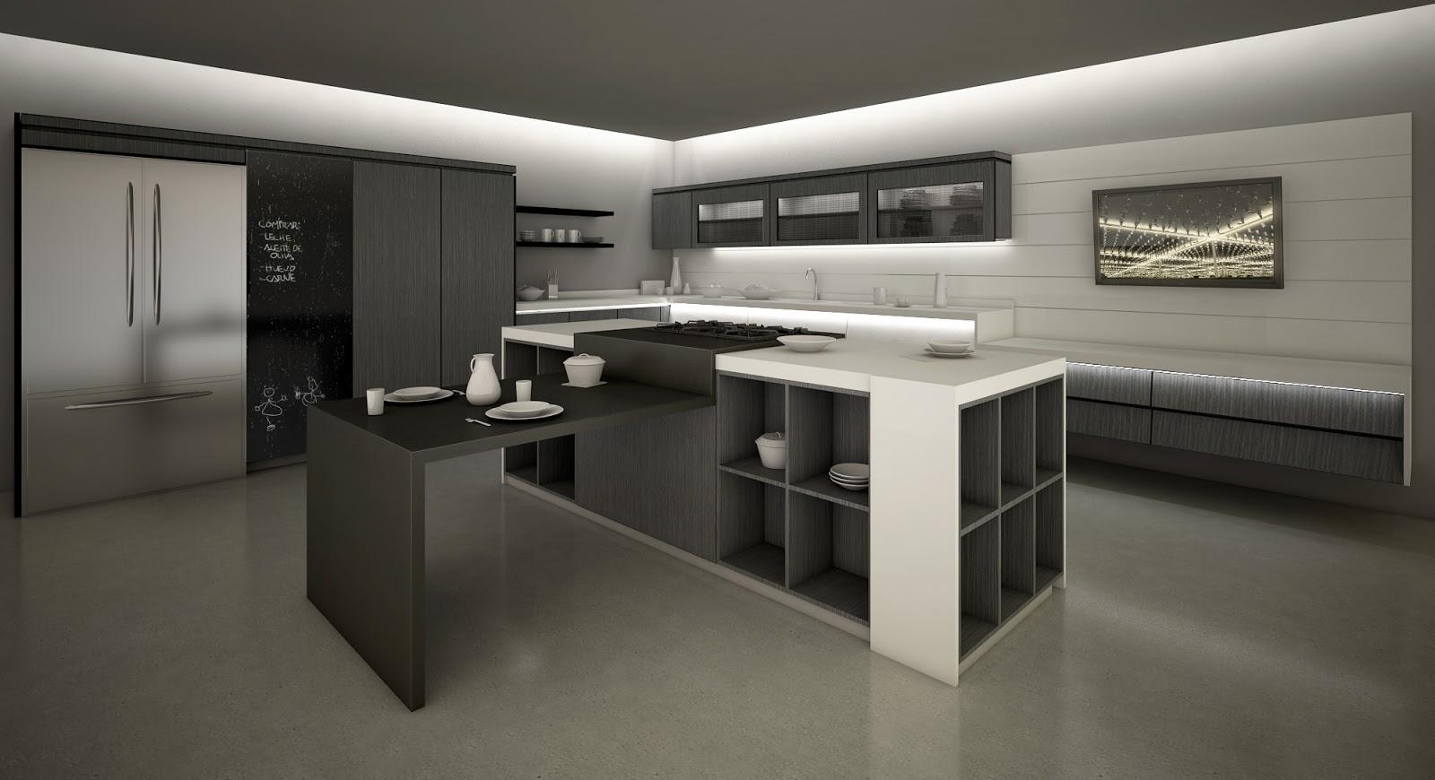 Masisa presenta la cocina xuni dessignare media arte for Cocina y bano juntos