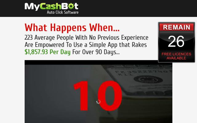 My Cash Bot