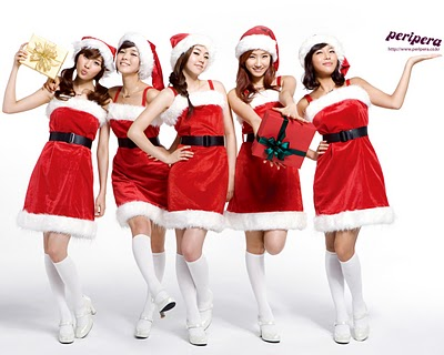 hot santa girls