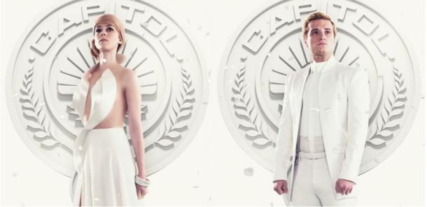 Peeta e Johanna nos pôsteres animados inéditos de Jogos Vorazes: A Esperança - Parte 1