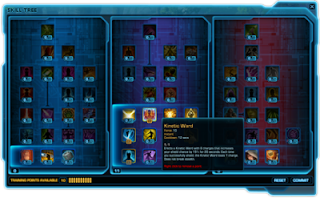 SWTOR Skill Tree Calculator