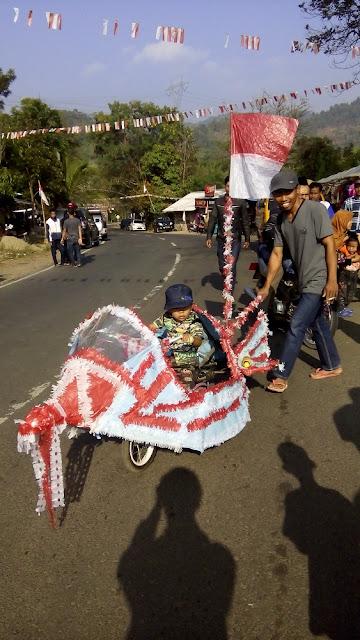 aksi warga di 17 agustus cipongkor