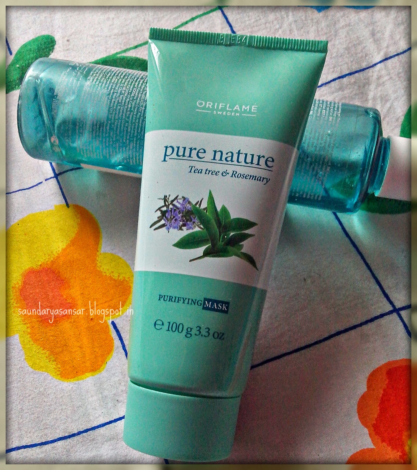 ORIFLAME-PURE-NATURE-Tea-Tree-and-Rosemary-Purifying-Mask-Review