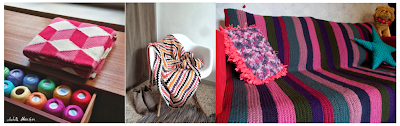 couverture crochet tricot carofoliz DIY